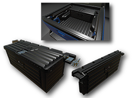Collapsible Truck Bed Storage