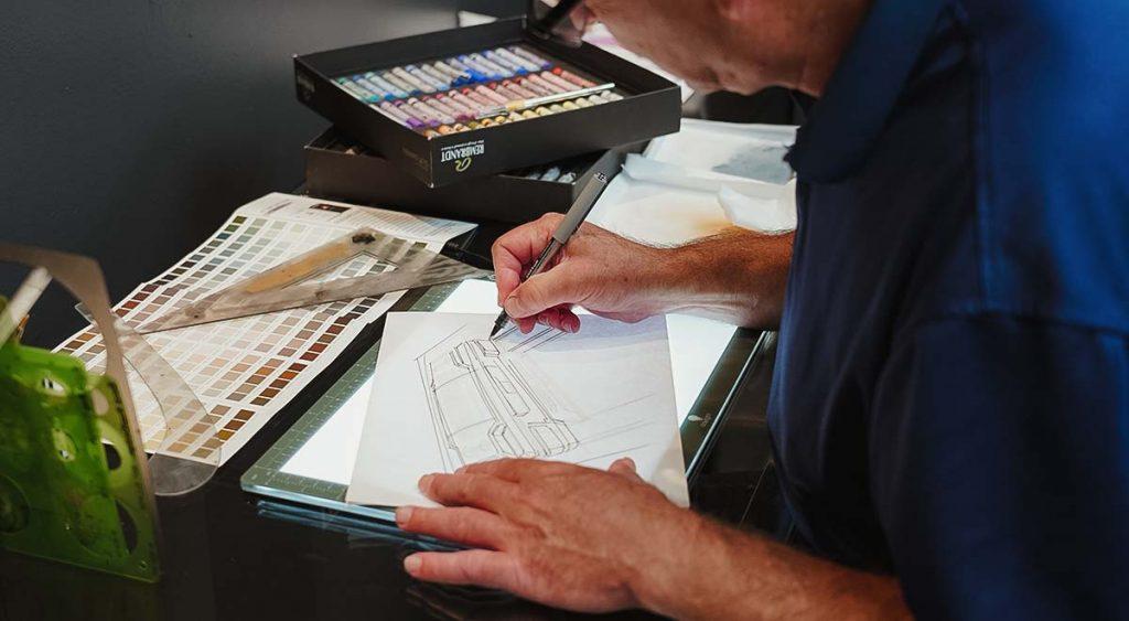 designer drafting